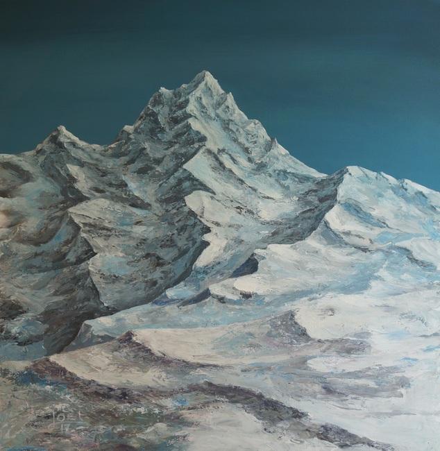 3) Der Dom 2 (Acryl auf Leinwand 100x100cm)