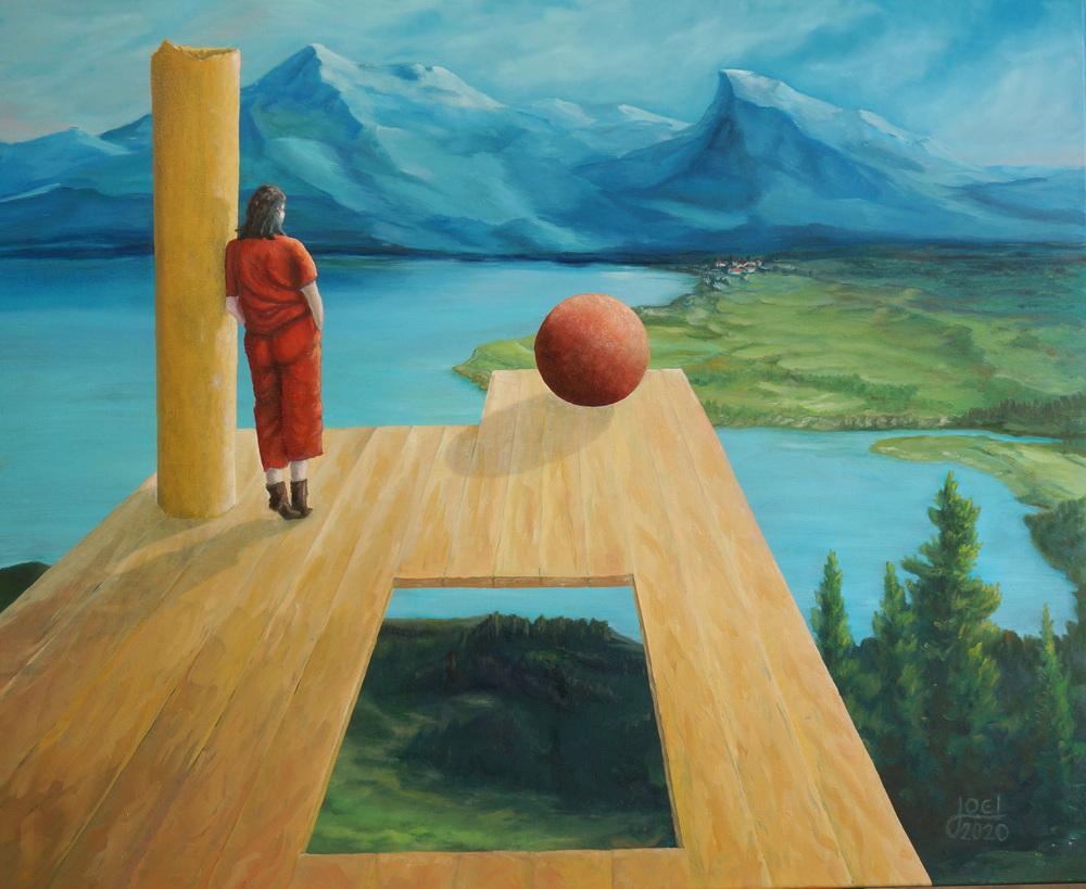 Swiss Alpine Art-Expo (Öl auf Leinwand 110x90cm)